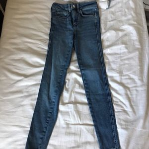 free people skinny jeans size 24